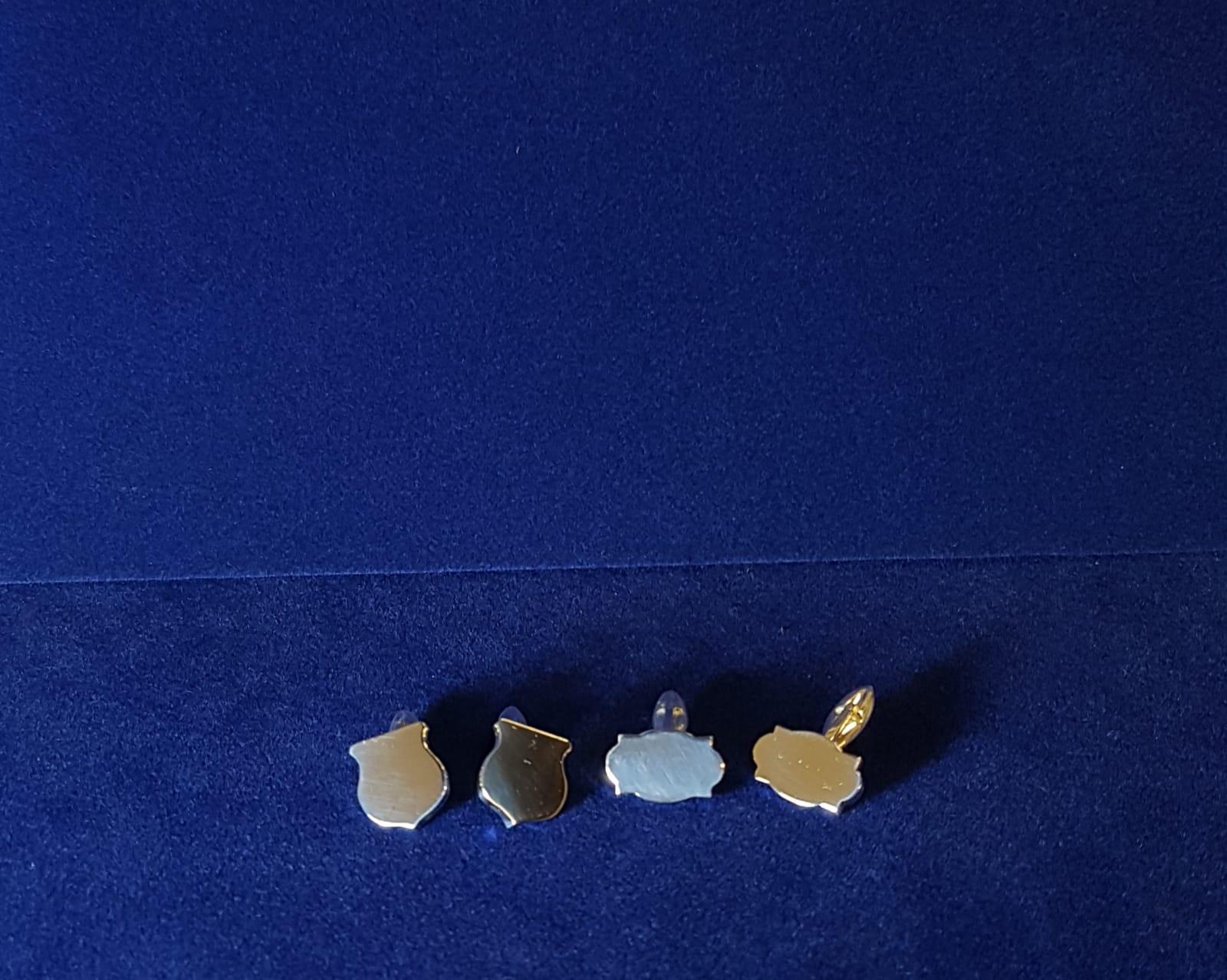 porta chiave personalizzato con incisione di gioielli argento Otello Santucci